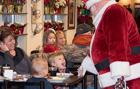 Breakfast for Dinner with Santa-SOLD OUT