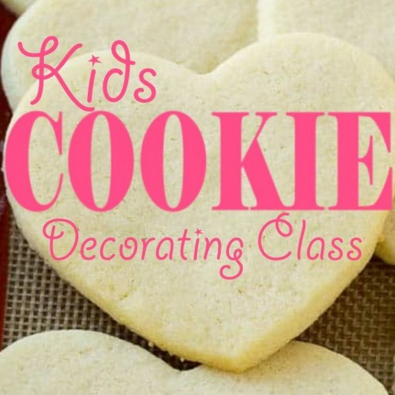 Kids Cookie Decorating Class-SOLD OUT