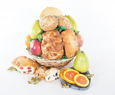 Fruit and Bakery Gift Baskets